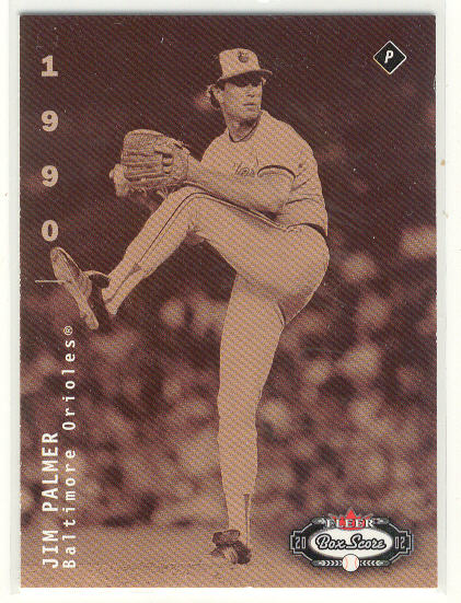 2002 Fleer Box Score #271 Jim Palmer CT