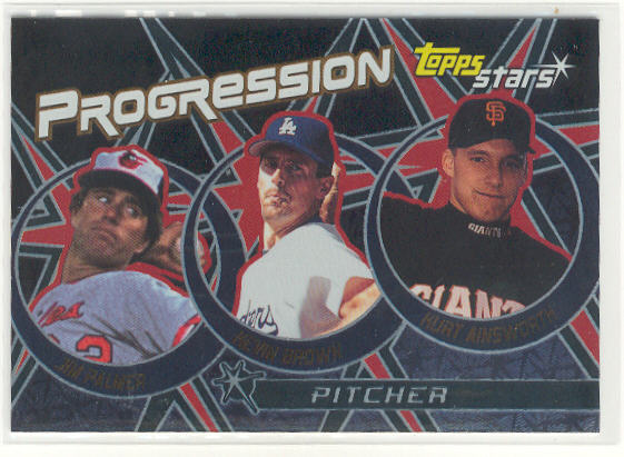 2001 Topps Stars Progression #P6 Palmer/K.Brown/Ainsworth