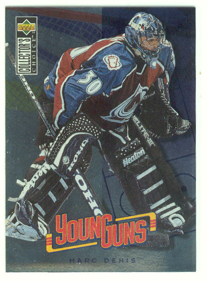 1996-97 Collector's Choice #363 Marc Denis YG