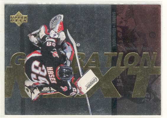 1996-97 Upper Deck Generation Next #X28 Dominik Hasek/Roman Turek