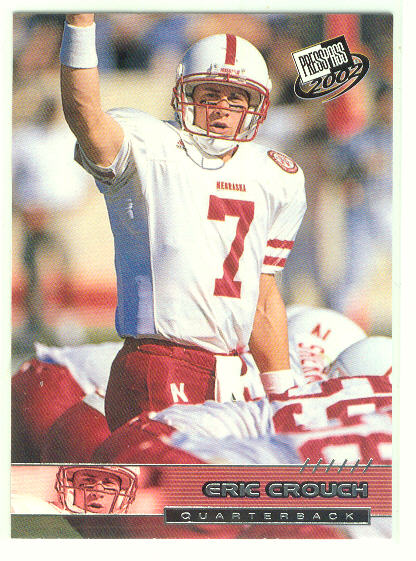 2002 Press Pass #2 Eric Crouch