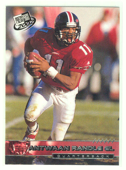 2002 Press Pass #9 Antwaan Randle El