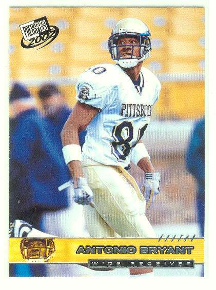 2002 Press Pass #20 Antonio Bryant