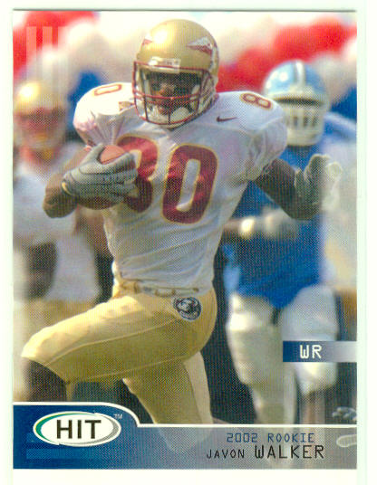 2002 SAGE HIT #41 Javon Walker