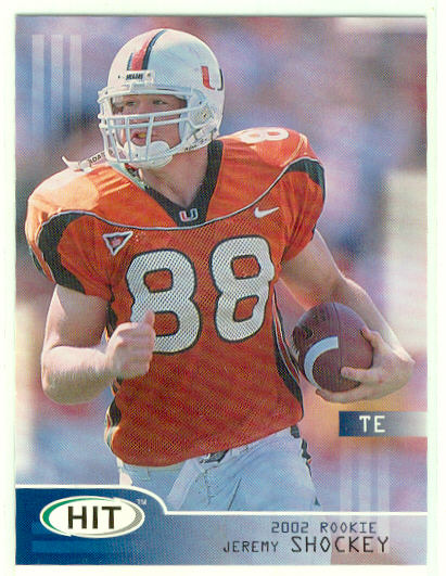 2002 SAGE HIT #43 Jeremy Shockey