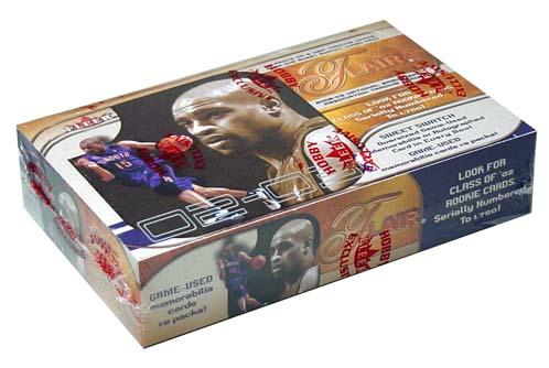 2002-03 (2003) Flair Basketball Hobby Box, Factory Sealed