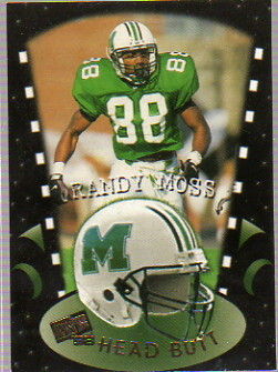 1998 Press Pass Head Butt #HB7 Randy Moss