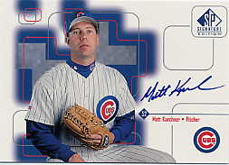 1999 SP Signature Autographs #MKA Matt Karchner