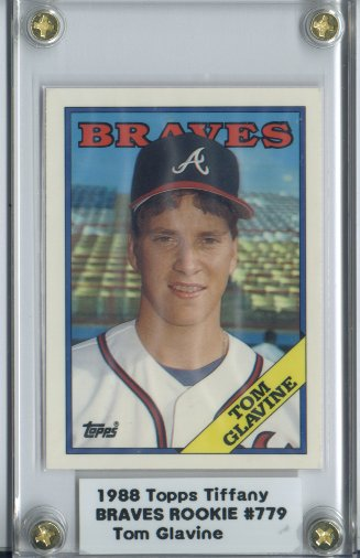 1988 Topps Tiffany #779 Tom Glavine