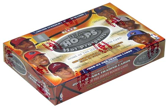 2002-03 (2003) NBA Fleer Hoops Hot Prospects Basketball Hobby Box, Factory Sealed
