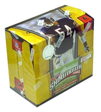 2003 NFL Showdown Booster Box, Factory Sealed