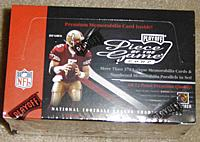 2002 Playoff Piece of the Game factory-sealed football box