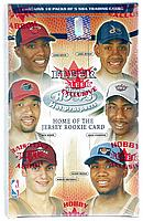 2002-03 Hoops Hot Prospects factory-sealed basketball Blaster Box