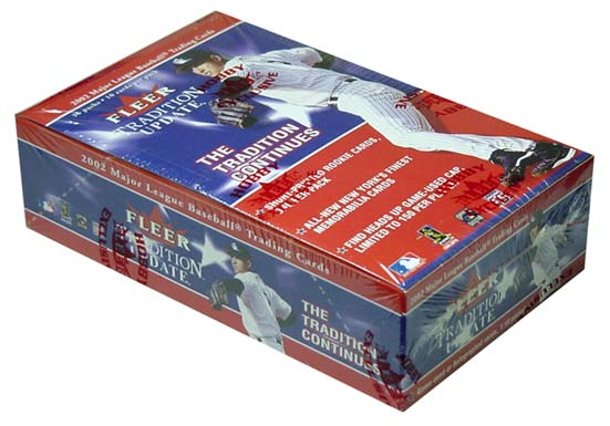 2002 Fleer Tradition Update Baseball Hobby Box, Factory Sealed