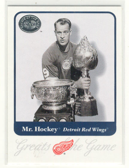 2001-02 Greats of the Game #1 Gordie Howe