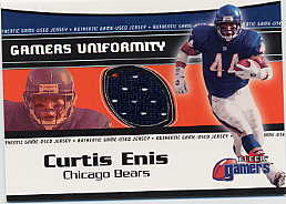 2000 Fleer Gamers Uniformity #14 Curtis Enis