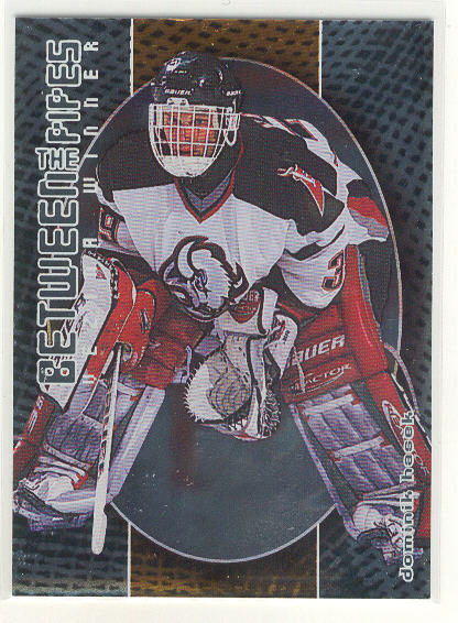 2001-02 Between the Pipes #109 Dominik Hasek
