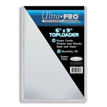 Ultra-Pro #81185  6x9 All Clear Card or Photo Holder Lot of 2 (25/pack)