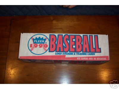 1990 FLEER BASEBALL FACTORY SET