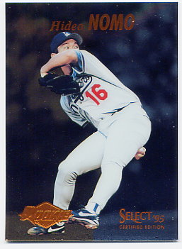 1995 Select Certified #98 Hideo Nomo RC