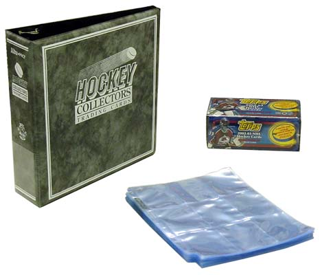 2002-03 (2003) Topps Hockey Complete Set, Factory Sealed, with Binder & Pages, *** In-Stock ***