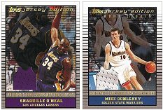 2002-03 Topps Jersey Edition NBA Basketball Card Pack (2002,2003)