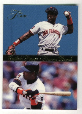 1994 Flair Barry Bonds Outfield Power #2