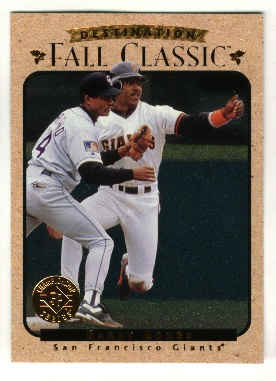 1995 SP Championship Barry Bonds Fall Classic  #9