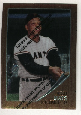1997 Topps Mays Finest #16 Willie Mays