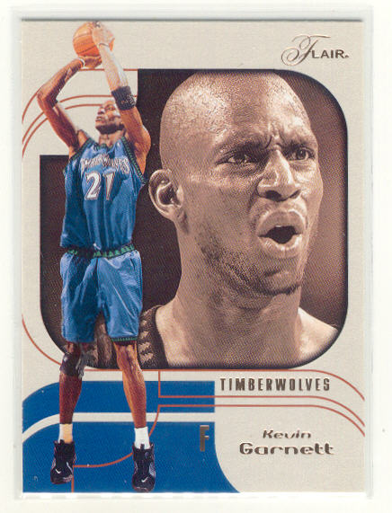 2002-03 Flair #21 Kevin Garnett