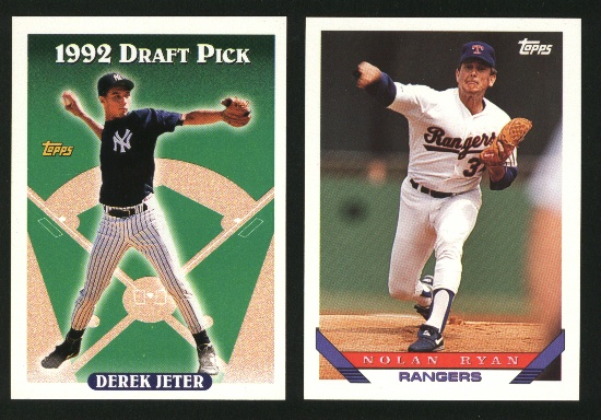 1993 Topps Baseball Complete Set NM/MT -- Jeter RC