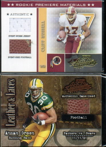 2002 Absolute Memorabilia #225 Cliff Russell RPM RC