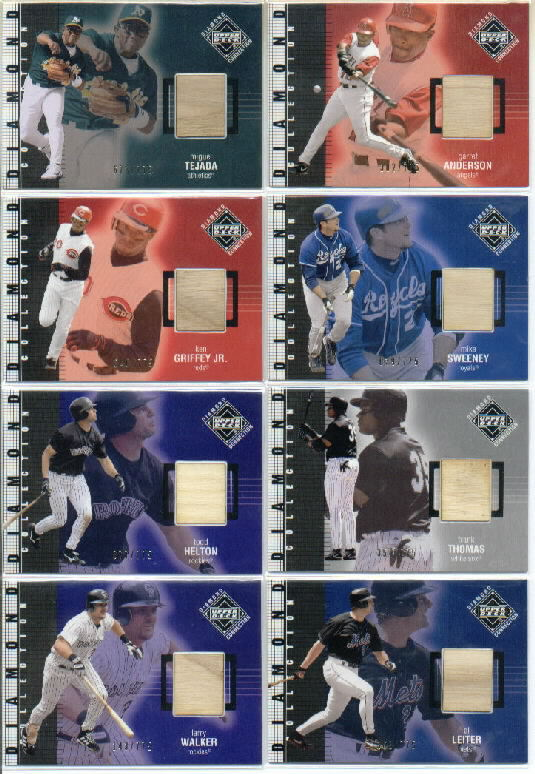 2002 Upper Deck Diamond Connection #432 Al Leiter DC Bat