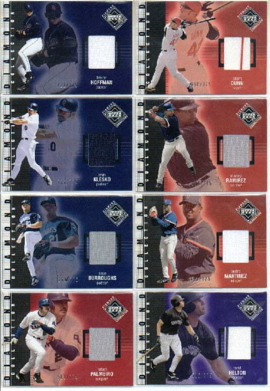 2002 Upper Deck Diamond Connection #236 Ryan Klesko DC Jsy