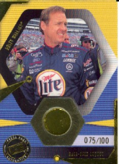 2002 Press Pass Optima Race Used Lugnuts Drivers #LND18 Rusty Wallace