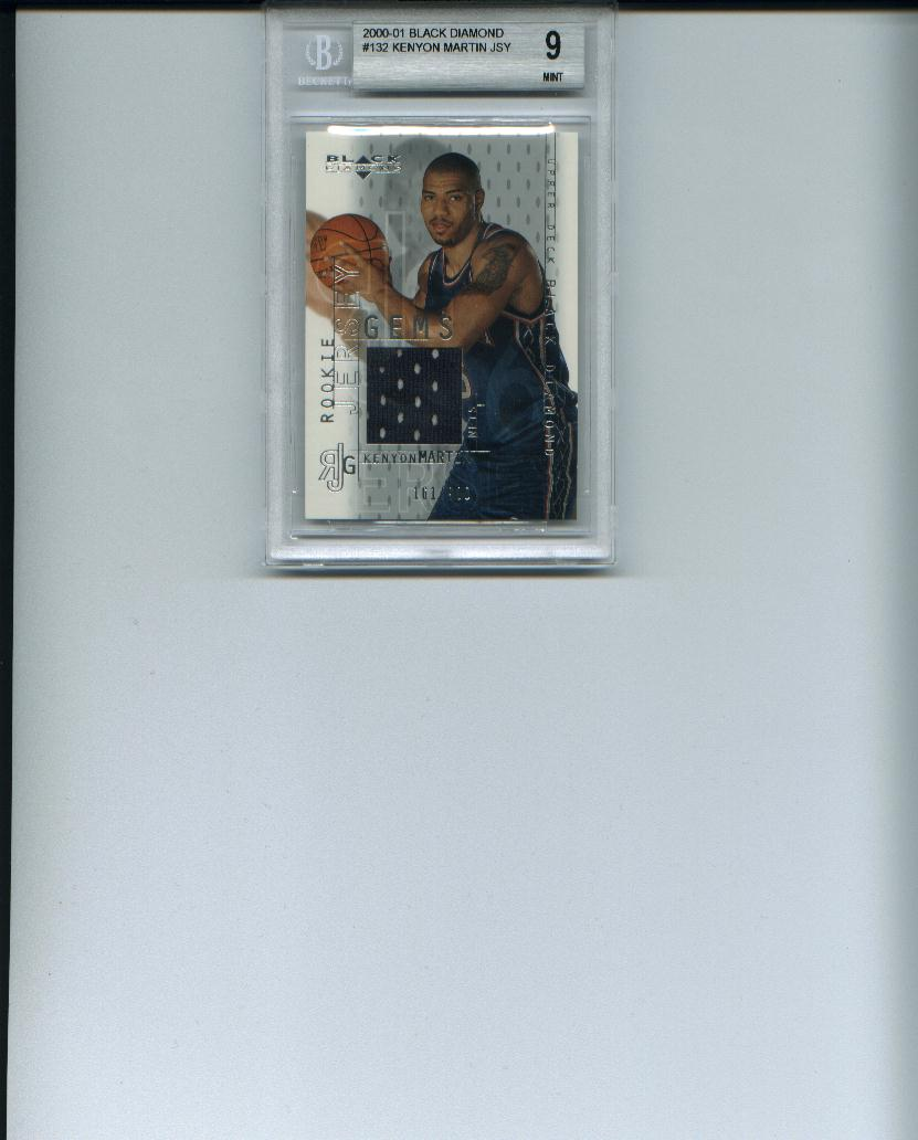 2000-01 Black Diamond #132 Kenyon Martin JSY RC