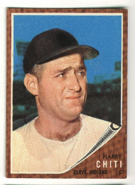 1962 Topps #253 Harry Chiti CO