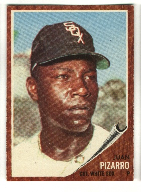 1962 Topps #255 Juan Pizarro