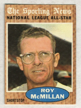 1962 Topps #393 Roy McMillan AS
