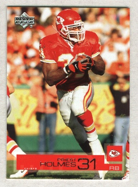 2002 Upper Deck #84 Priest Holmes      