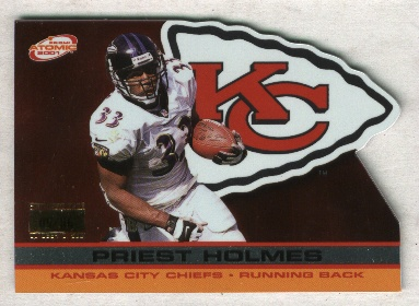 2001 Pacific Prism Atomic Premiere Date #70 Priest Holmes   09/86
