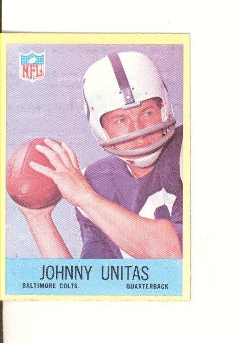 1967 Philadelphia #23 Johnny Unitas