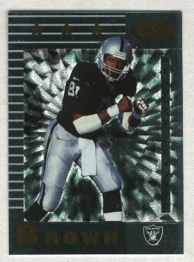 1999 Leaf Certified #169 Tim Brown
