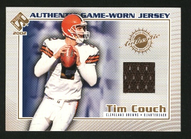2002 Private Stock Game Worn Jerseys #34 Tim Couch/510*