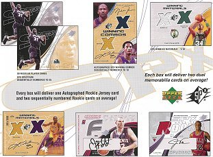 2002-03 Upper Deck SPX Basketball Pack
