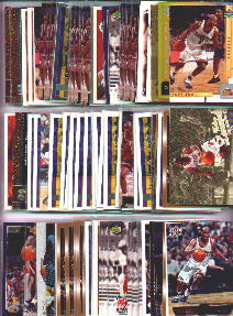 Voshon Lenard Lot of (102) Assorted Basketball Cards