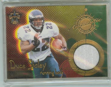 2000 Vanguard Game Worn Jerseys #9 Duce Staley