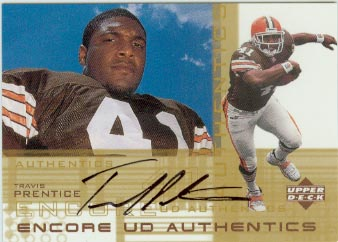 2000 Upper Deck Encore UD Authentics #TP Travis Prentice