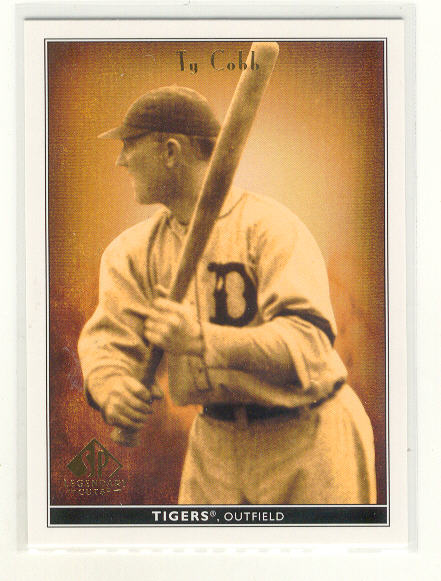 2002 SP Legendary Cuts #84 Ty Cobb