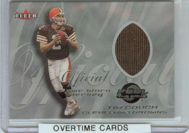 2000 Fleer Tradition Feel the Game #12 Tim Couch